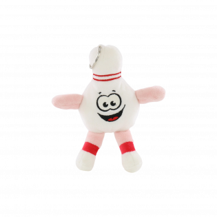 HAPPY BOWLING PLUSH TOY 15CM KEYCHAIN (EACH)
