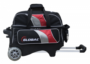 900 GLOBAL 2-BALL DELUXE ROLLER BLACK/RED/SILVER