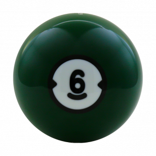 BILLARD HOUSEBALL 6 LBS (GEBOHRT)