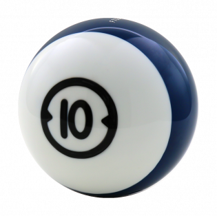 BILLARD HOUSEBALL 10 LBS (GEBOHRT)