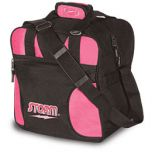 STORM 1-BALL SOLO TOTE BLACK/PINK