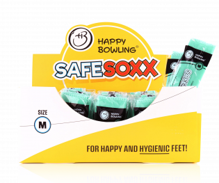 HAPPY BOWLING SAFESOXX SIZE M 41 TO 44 BOX/100