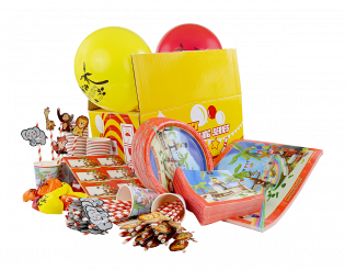 BOWLTECH PARTY PACK TROPICAL (100 SETS)